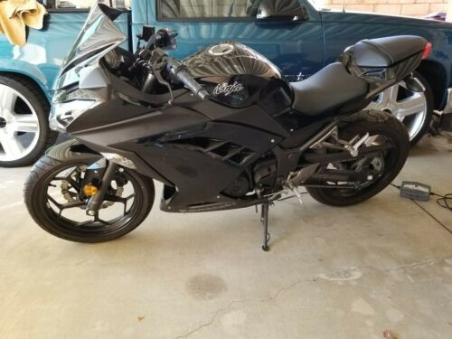 2014 Kawasaki Ex300 Black for sale