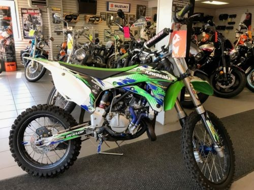 2014 Kawasaki KX Green photo