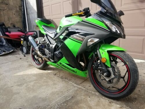 2014 Kawasaki Ninja® 300 SE -- Green for sale