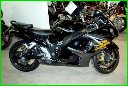 2014 Suzuki Hayabusa Metallic Thunder Gray and Glass Sparkle Black for sale craigslist