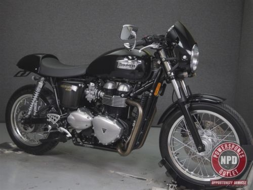 2014 Triumph Thruxton PHANTOM BLACK photo