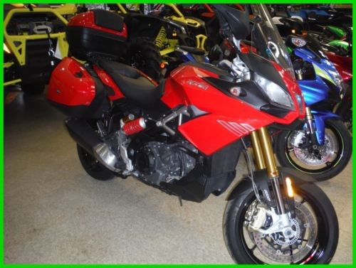 2015 Aprilia Caponord 1200 ABS Travel Pack RED/BLK for sale