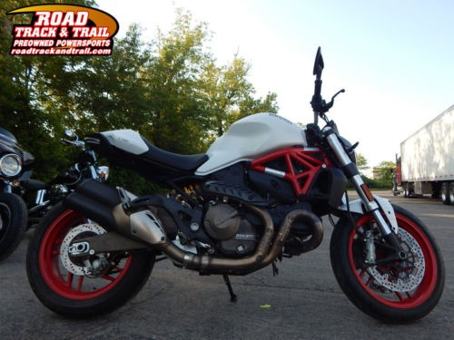 2015 Ducati Monster 821 Star White Silk -- White craigslist