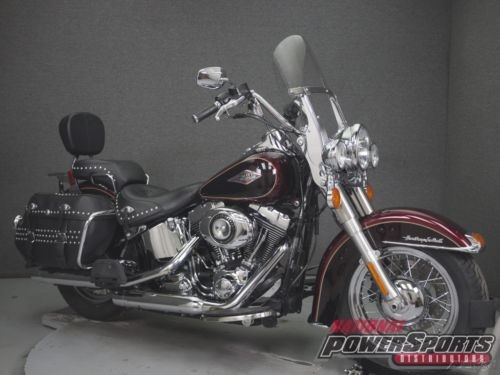 2015 Harley-Davidson Softail FLSTC HERITAGE  CLASSIC Black photo