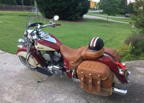 2015 Indian Chief Vintage Indian red and ivory for sale