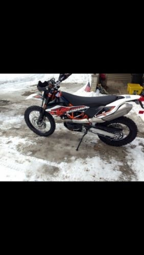 2015 KTM Enduro R White black orange for sale