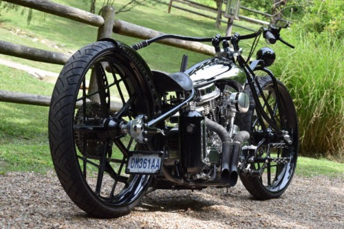 2016 Custom Built Motorcycles Bobber Black for sale craigslist