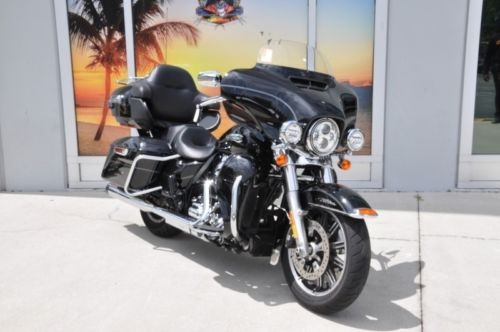 2016 Harley-Davidson FLHTCUL - Electra Glide® Ultra Classic® Low -- Black for sale craigslist