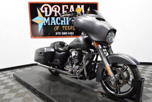 2016 Harley-Davidson FLHXS - Street Glide Special Managers Special -- Charcoal Denim for sale