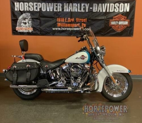 2016 Harley-Davidson FLSTC - Heritage Softail® Classic -- Teal for sale