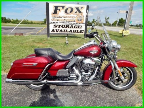 2016 Harley-Davidson Touring FLHR Road King® Velocity Red Sunglo for sale craigslist