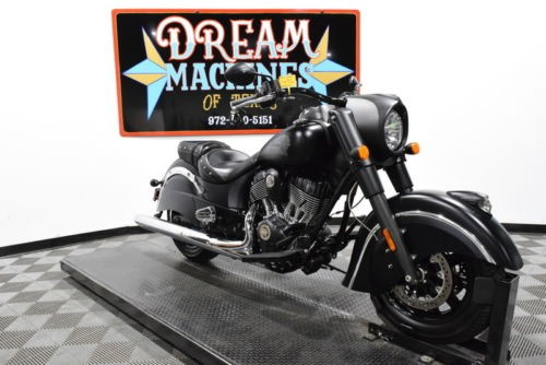 2016 Indian Chief Dark Horse -- Black for sale craigslist