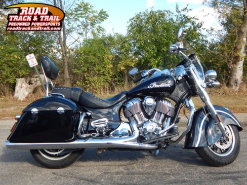 2016 Indian Springfield™ Thunder Black -- Black for sale