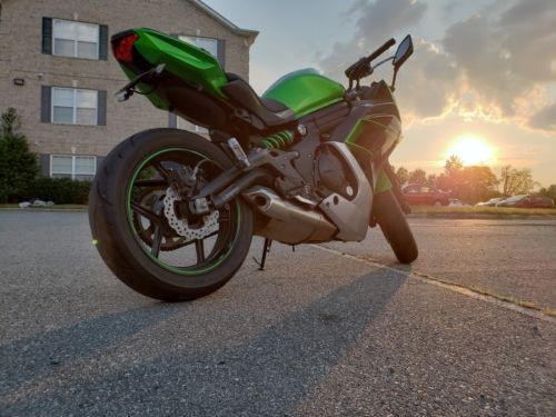 2016 Kawasaki Ninja Green for sale craigslist