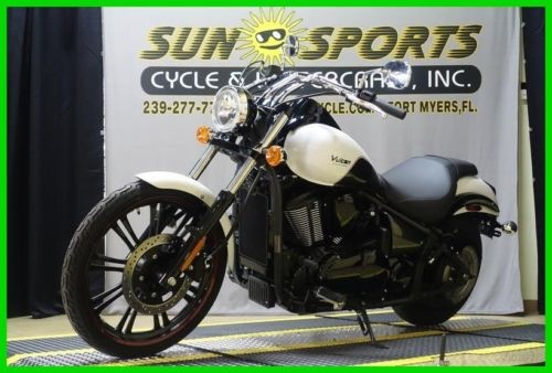 2016 Kawasaki Vulcan Custom White for sale