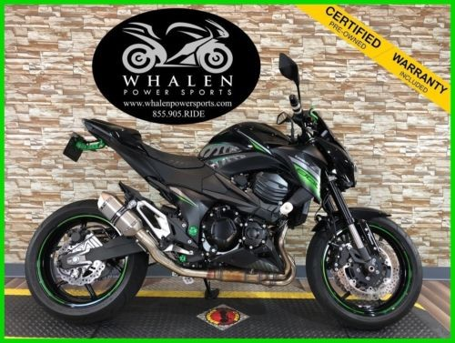 2016 Kawasaki Z® Metallic Spark Black / Flat Ebony for sale