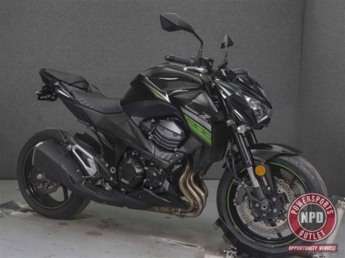 2016 Kawasaki Z800 W/ABS BLACK W/GREEN DETAILS for sale