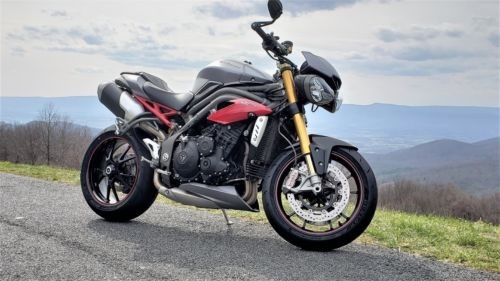 2016 Triumph Speed Triple Gray for sale