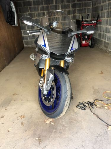 2016 Yamaha R1M Gray/Blue/Carbon Fiber for sale craigslist