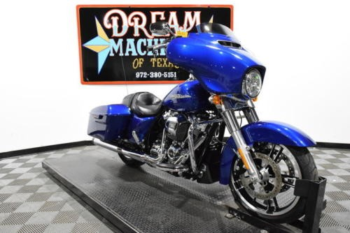 2017 Harley-Davidson FLHX - Street Glide -- Blue for sale