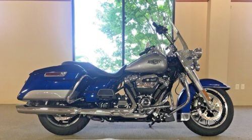 2017 Harley-Davidson Touring 2017 FLHR Road King Blue/Silver for sale