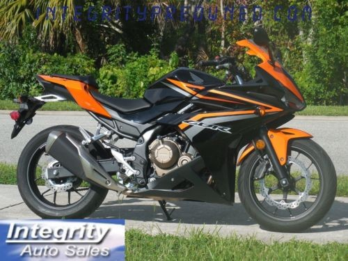 2017 Honda CBR Black for sale