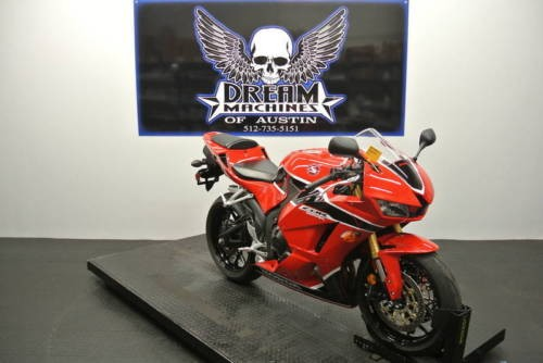 2017 Honda CBR -- Red for sale