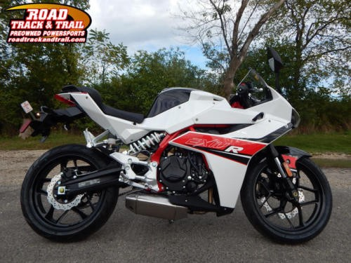 2017 Hyosung GD250R -- White for sale