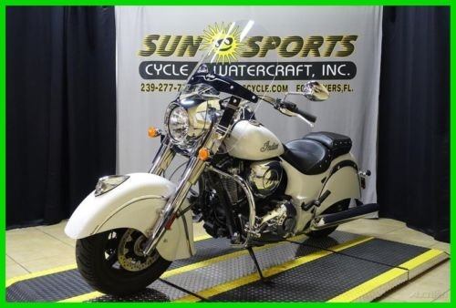 2017 Indian Chief Classic Pearl White White for sale