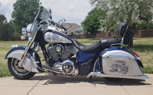 2017 Indian Springfield - Custom Springfield Blue and Silver for sale