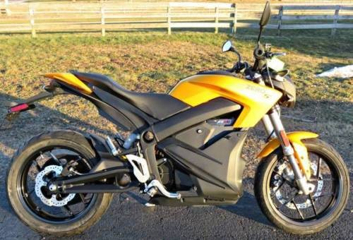 2017 Other Makes 2017 Zero Electric Motorcycle S ZF6.5 Yellow for sale