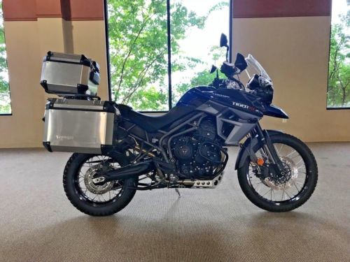 2017 Triumph Tiger 2017 Xcx 800! No Reserve! Blue for sale craigslist