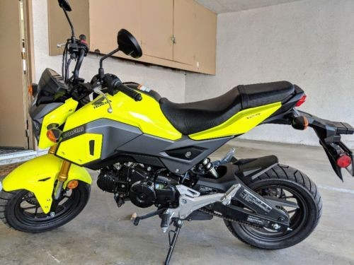 2018 Honda Grom Green for sale