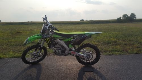 2018 Kawasaki KX250f Green for sale