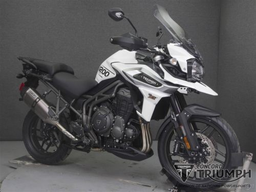 2018 Triumph Tiger CRYSTAL WHITE for sale