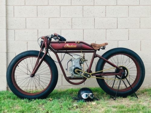 1913 Indian Single cylinder Antique red for sale craigslist
