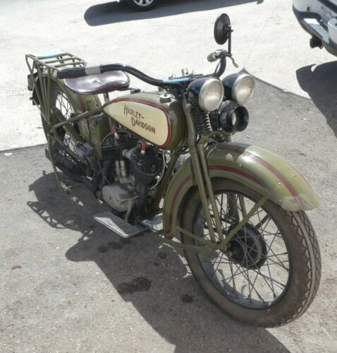 1929 Harley-Davidson D Model, 1st Yaer Green for sale