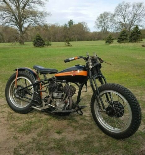 1937 Harley-Davidson Race only Black for sale craigslist