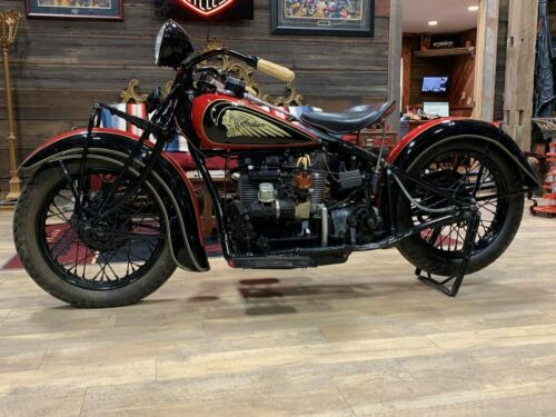 1937 Indian Four Cylinder Red for sale