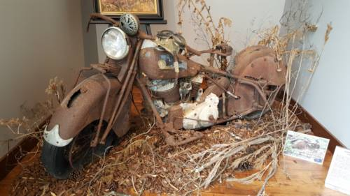 1940 Indian Chief Blue/White/Natural for sale