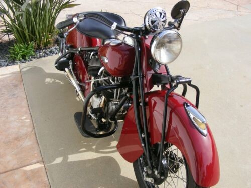 1940 Indian chief classic indian red for sale