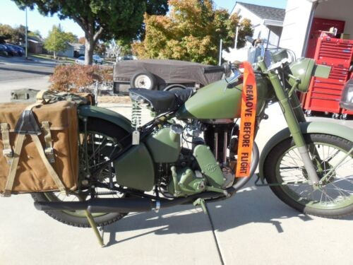 1941 Other Makes Matchless WD 41-G3L Military green and olive drab craigslist