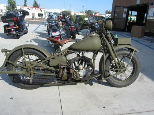 1942 Harley-Davidson WLC Military green drab for sale craigslist