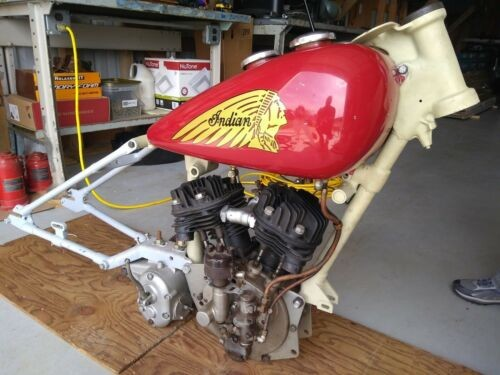 1942 Indian Junior Scout Red for sale craigslist