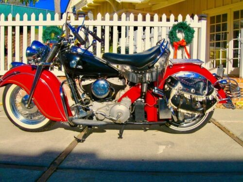 1947 Indian Chief red/black for sale craigslist
