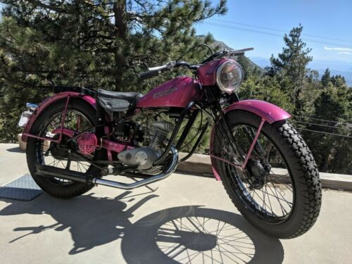 1949 Harley-Davidson Hummer Light purple for sale craigslist