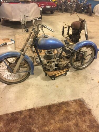 1949 Indian INDIAN SCOUT PLUS TON OF PARTS EXTRA BIKE FLANDERS BLUE craigslist