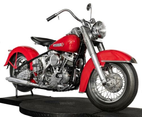 1950 Harley-Davidson FL Panhead Red for sale craigslist