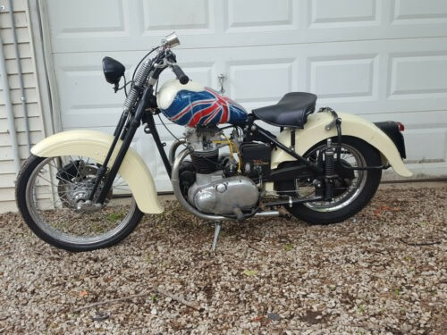 1952 BSA Golden Flash Cream for sale