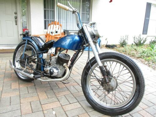 1953 Harley-Davidson PANHEAD Red for sale | Used motorcycles